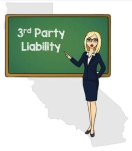 California 3rd party liability