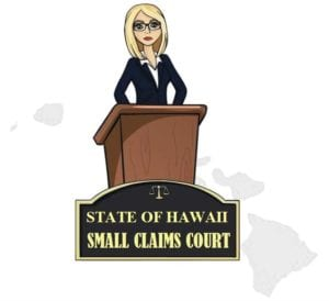 Hawaii small claims court