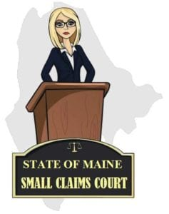 Maine small claims court