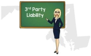 Maryland 3rd Party Liability