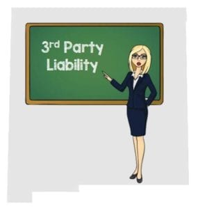 New Mexico 3rd party liability